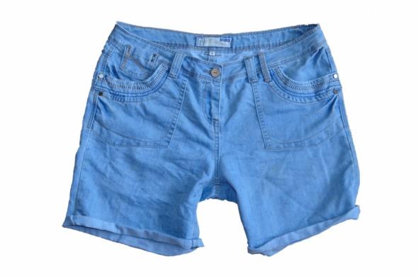 87TU jeansowe spodenki damskie 44...