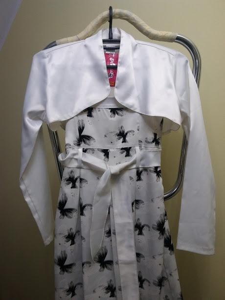 Sukienka na komunię wesele