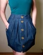 Spódnica ala jeansowa