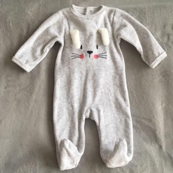 Śpiochy pajace niemowlęce 62