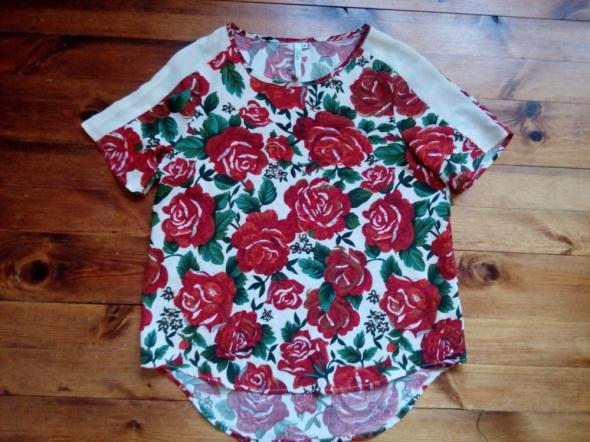 Bluzki Bluzka w róże M