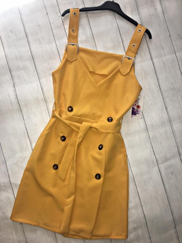 sukienka nowa dwurzędowa NOWA moda 2019...