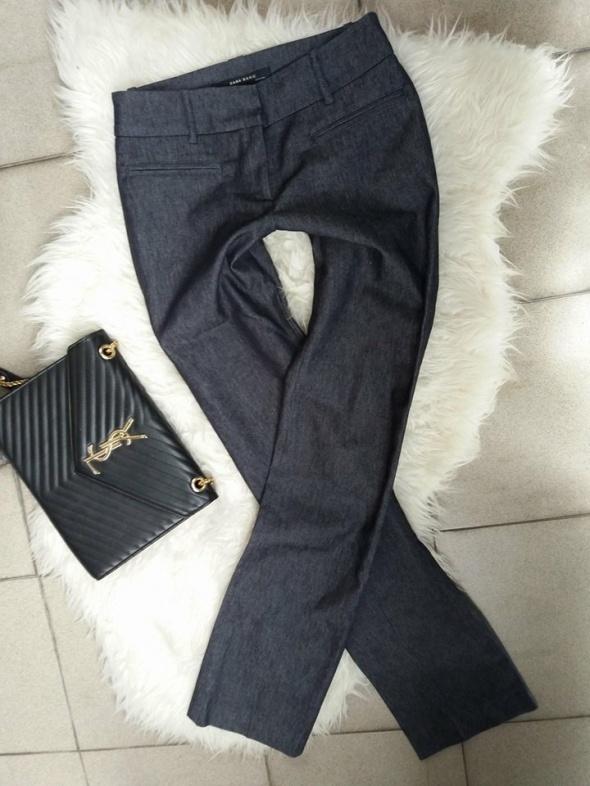 spodnie Zara szare popielate eleganckie r Xs S