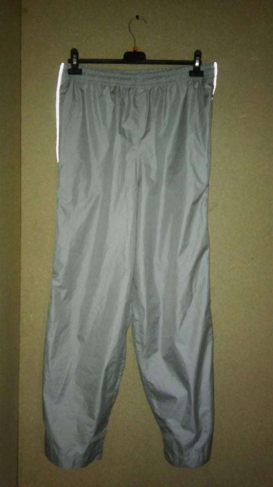 Szare spodnie sportowe dresowe męskie 42 44