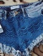 bershka jeansowe