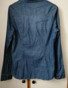 koszula jeansowa dżinsowa z długim rękawem...