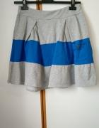 bawełniana spódniczka mini na gumce z kieszonką...