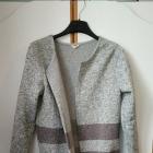 Śliczny dłuższy Sweter Kardigan praktycznie nowy rozmiar M
