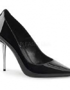 buty na matelowej szpilce...