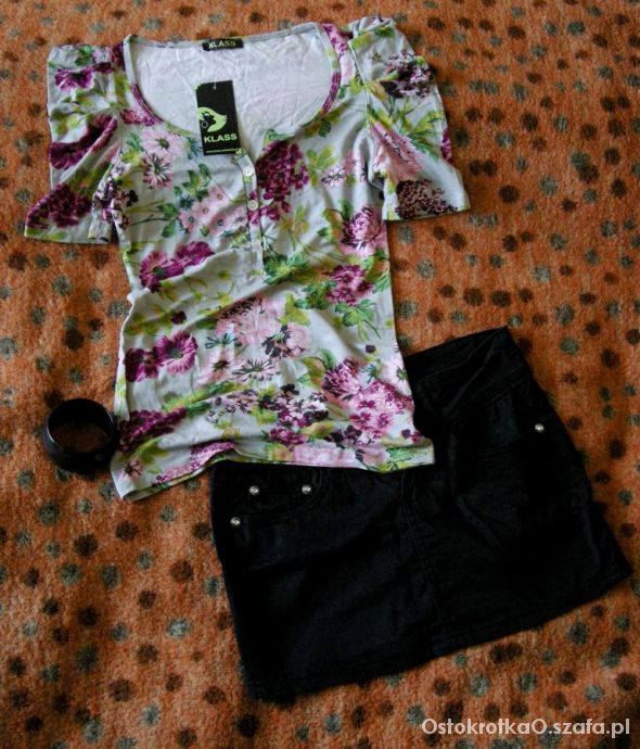 Nowa bluzeczka floral HIT