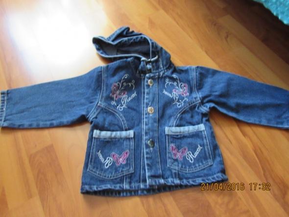 Kurtka jeansowa dla dziewczynki rozm XL