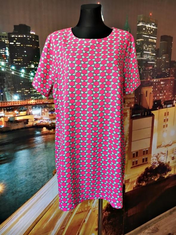 new look inspire sukienka kokardki wyszczuplająca 48...