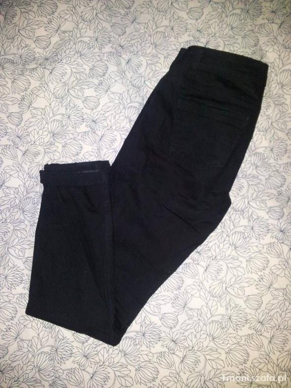 Spodnie rurki skinny czarne 36 S...