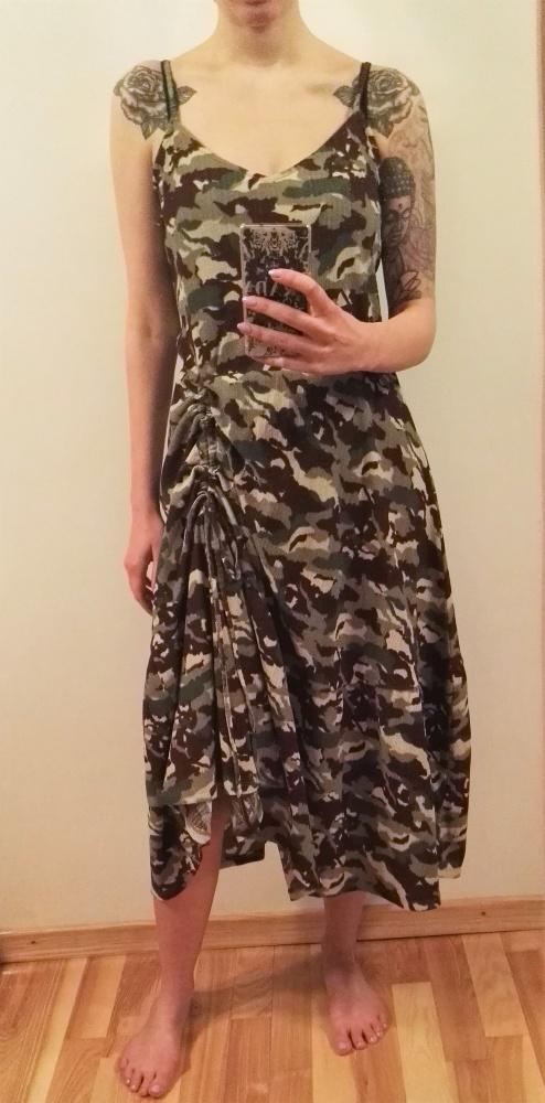 08759ae055 sukienka rozkloszowana midi trapez A ASOS 38 w Suknie i sukienki ...