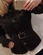 Żakiet Reserved khaki ciemna zieleń XS