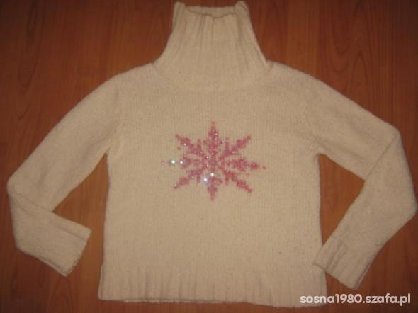 Sweter z gwiazdką