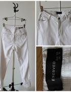 Białe rurki nowe reserved...
