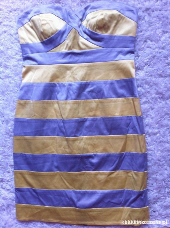 Sukienka bodycon jak Tally Weijl długi ZIP satyna