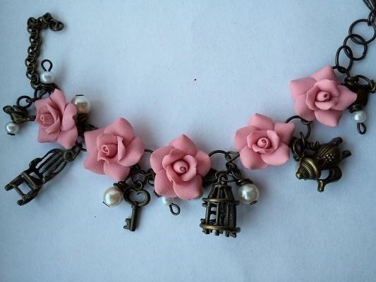Bransoletka róże