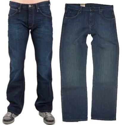 Spodnie męskie WRANGLER wyprzedaż Rozmiar W31 L34