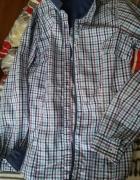 koszula w kolorowa kratke...