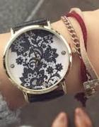 Zegarek geneva nowy koronka złoty...