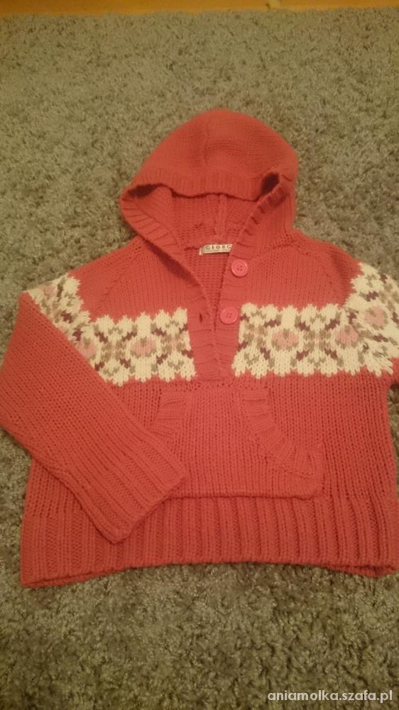 Sweter George dla dziewczynki 110 116 5 6 lat