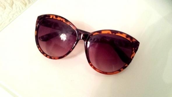 Okulary przeciwsłoneczne panterka cat eye
