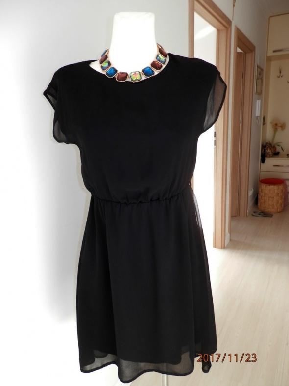 8b3e697c416f01 Suknie i sukienki Sukienka Atmosphere Rozkloszowana Zwiewna Czarna Goth XS