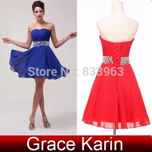 Sukienka Czerwona Diamenty wiązana