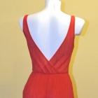 Sukienka czerwona Lady in Red Stradivarius roz s