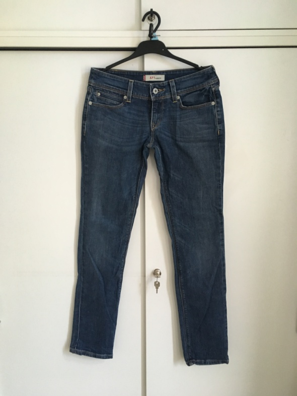 jeansy levis 571 SM