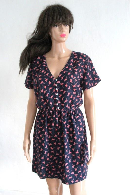 Suknie i sukienki Sukienka flamingi