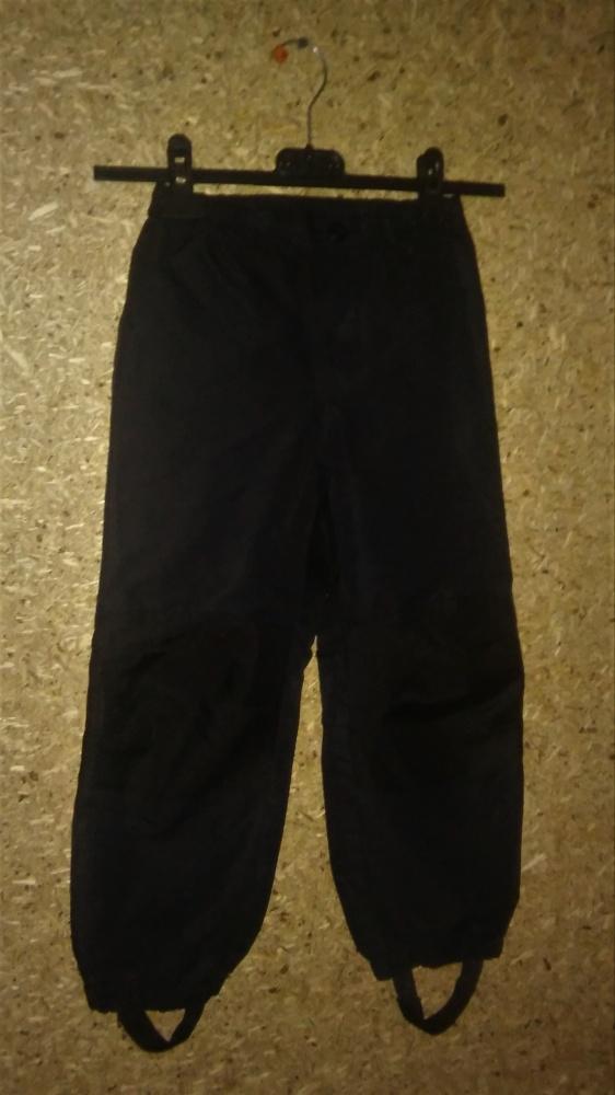 H&M Czarne spodnie narciarskie 122 cm...