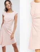 CLOSET asos drapowana asymetryczna sukienka SM...