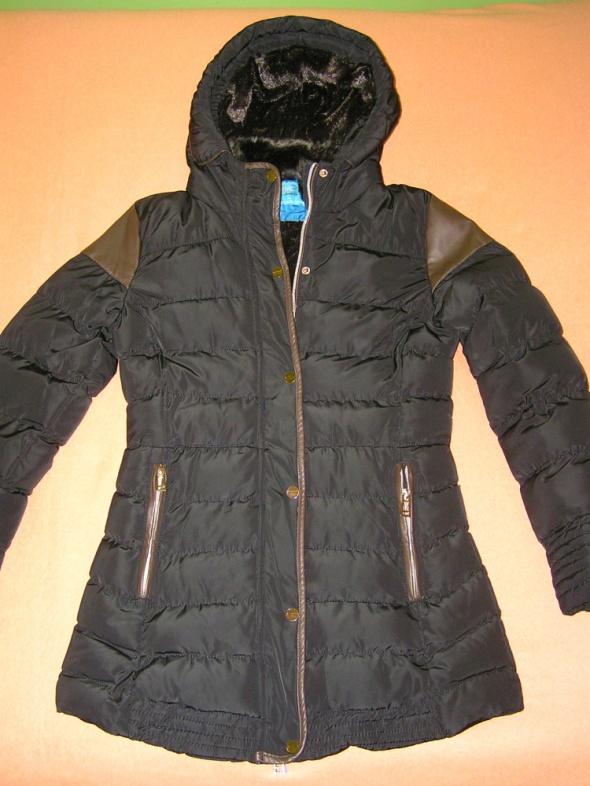 Zimowa ciepła kurtka styl ZARA