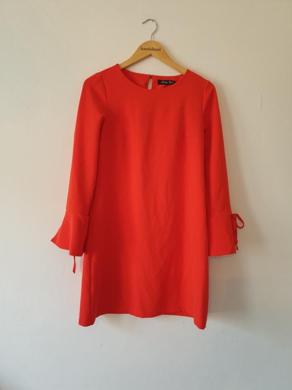 Sukienka oversize czerwona pretty girl 36