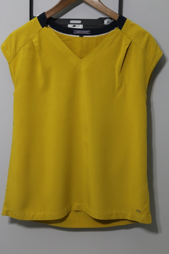 Żółta bluzeczka Tommy Hilfiger Rozm 4...
