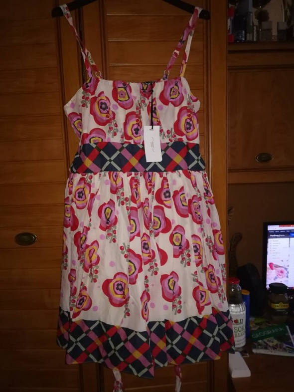 New Look nowa śliczna sukienka na lato 42...
