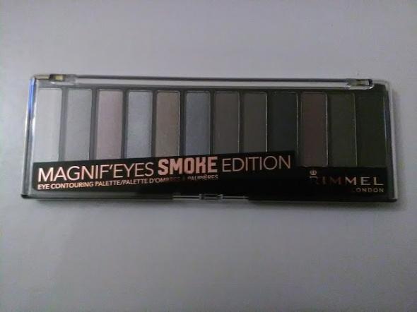 Rimmel Magnif eyes duża paleta cieni odcień 003 Smoke Edition NOWA