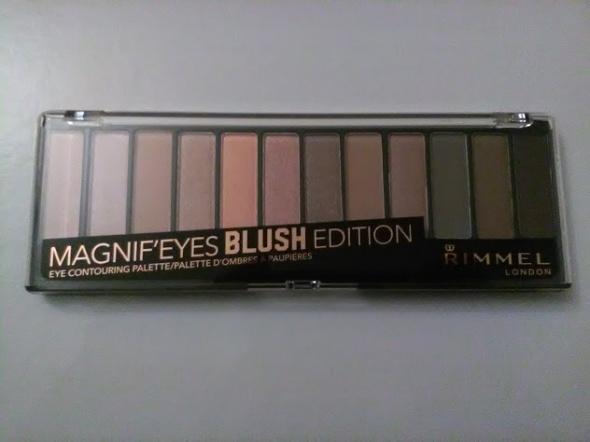Rimmel Magnif eyes duża paleta cieni odcień 002 Blush Edition NOWA