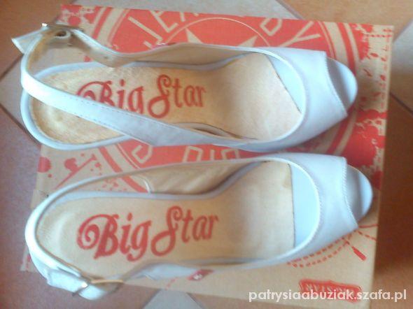 pastelowe szpilki Big star 37...