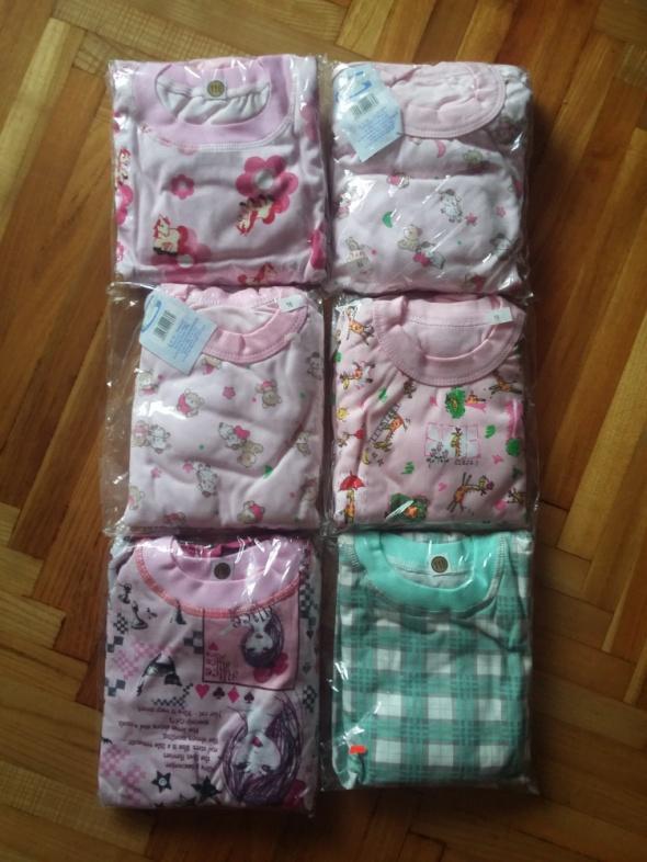 Piżama bawełna długi rękaw ze ściągaczem