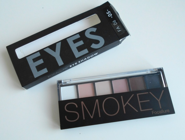 Focallure smokey eyes paleta cieni