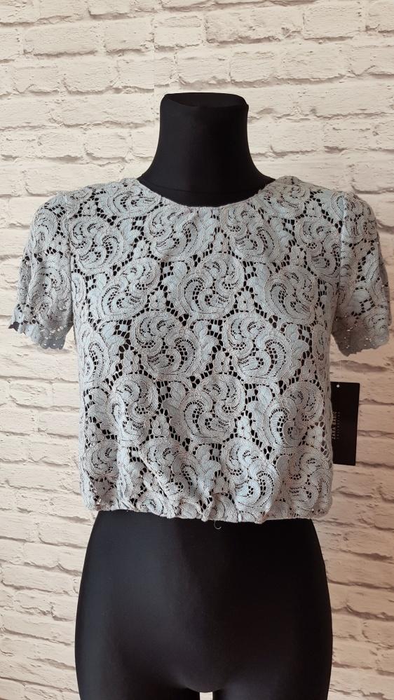 Bluzki Koronkowa bluzka Zara XS