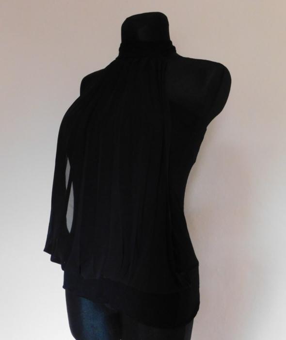 Jane Norman czarna sexy bluzka top 38 40...