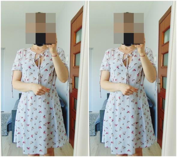 New Look nowa szara sukienka...