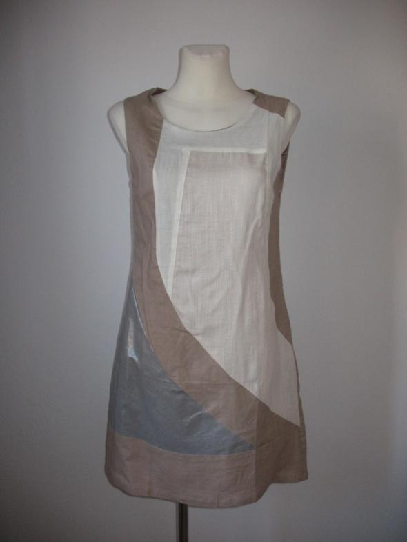 Nowa sukienka letnia lniana rozm M