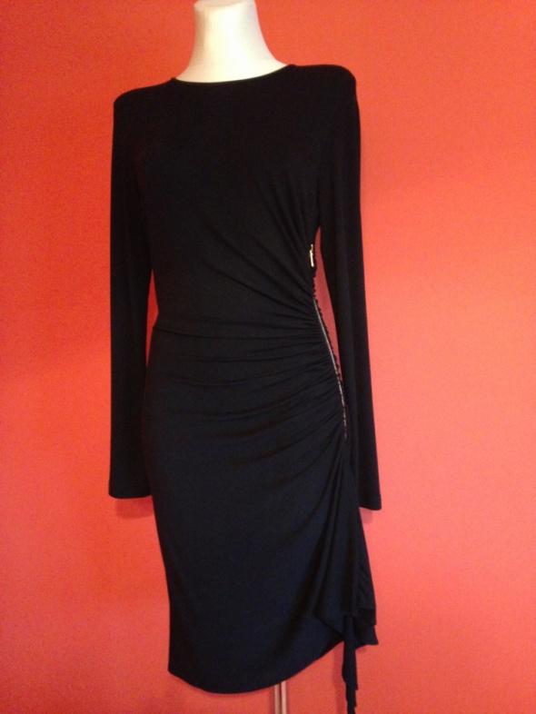 MICHAEL KORS oryginalna mała czarna sukienka zamek