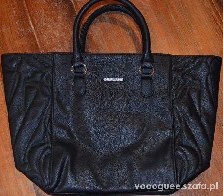 czarna duża torba oriflame